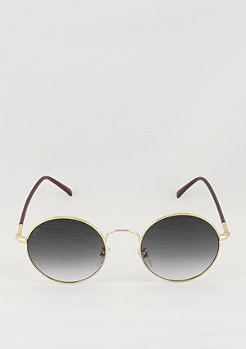Sonnenbrille Flower gold/grey