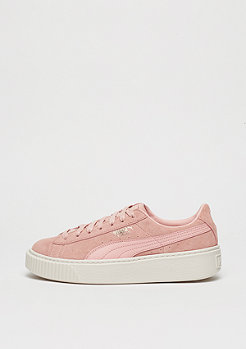 Suede Platform Core coral cloud/whisper white