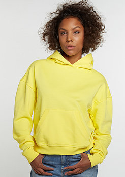 Hooded-Sweatshirt Inside Out yellow