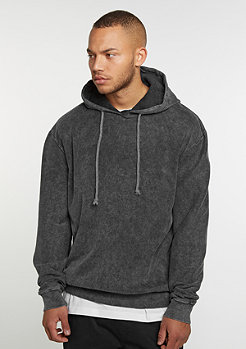 Hooded-Sweatshirt Rib charcoal