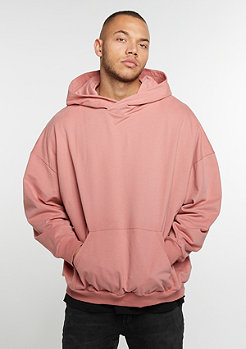 Hooded-Sweatshirt Oversized rose