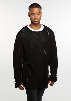 Sweatshirt Knit Crew black