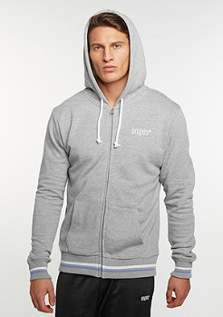 College Zip-Hoody grey