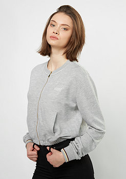 Zip-Sweatshirt Terry Blouson grey