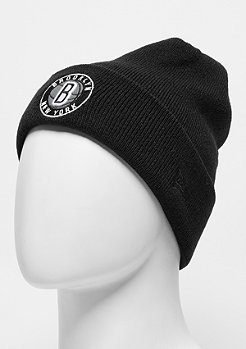 Beanie Reflective Pack Knit NBA Brooklyn Nets black