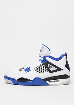 Air Jordan 4 Retro Motorsport white/game royal/black