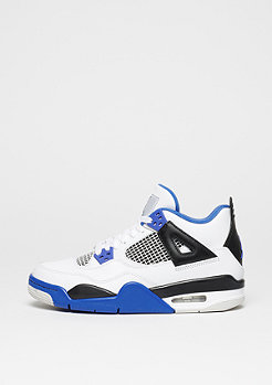 Air Jordan IV Retro BG Motorsport white/game royal/black