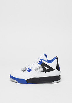 Basketballschuh Jordan 4 Retro PS Motorsport white/game royal/black