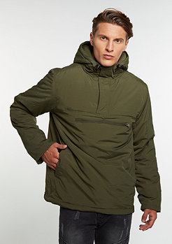Padded Pull Over Jacket olive