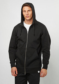 Hooded-Zipper X BY O black