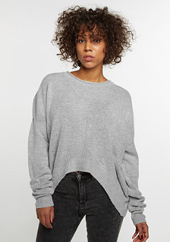 Sweatshirt Knit Crew grey