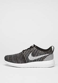 Laufschuh Roshe Two Flyknit black/white/wolf grey