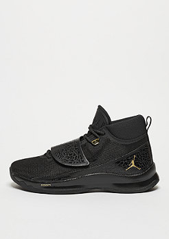Basketballschuh Super.Fly 5 black/metallic gold/black