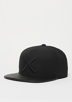 Snapback-Cap Exchange all black/black