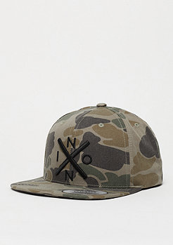 Snapback-Cap Exchange camo