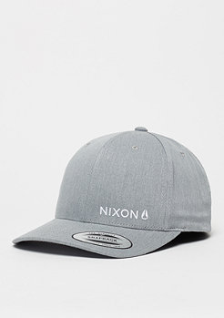 Baseball-Cap Lockup heather grey