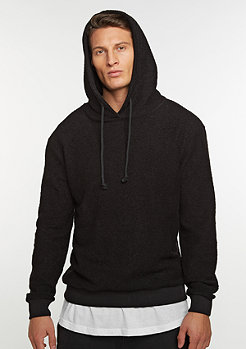 Hooded-Sweatshirt Terry black