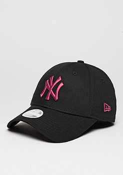 Baseball-Cap 9Forty MLB New York Yankees black/bright rose