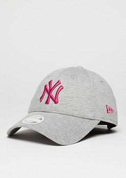 Baseball-Cap 9Forty MLB New York Yankees grey marl/bright rose