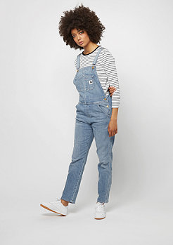 Bib Overall blue prime bleached