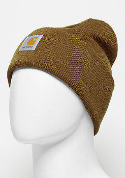 Acrylic Watch Hat hamilton brown
