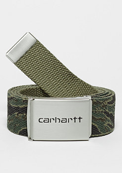 Clip Belt Chrome camo tiger/laurel