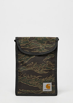 Umhängetasche Collins Neck Pouch camo tiger/laurel