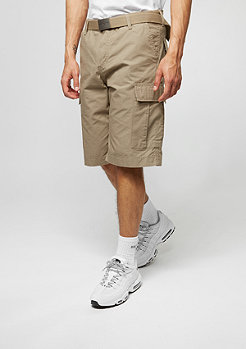 Cargo-Shorts Regular leather rinsed
