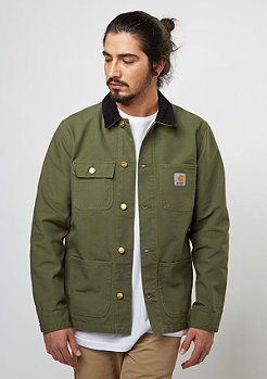 Michigan Chore Coat rover green/ black rinsed