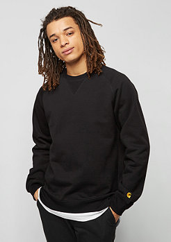 Sweatshirt Chase black/gold