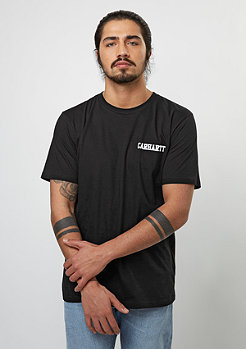 T-Shirt College Script LT black/white