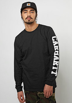 Longsleeve College Left LT black/white