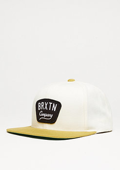 Snapback-Cap Gaston off white/gold