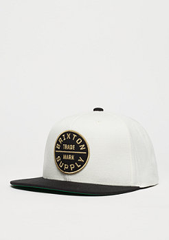 Snapback-Cap Oath II off white/black