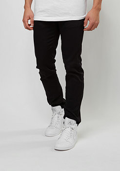 Chino-Hose Non Denim Slim Fit black