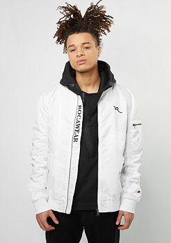Jacket very white