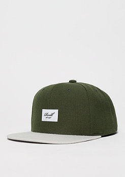 Snapback-Cap Pitchout 6-Panel olive/light grey