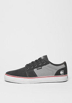 Skateschuh Barge LS dark grey/grey/red