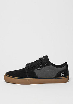 Skateschuh Barge LS black/dark grey/gum
