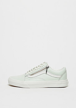 UA Old Skool Zip Leather zephyr blue/blanc de blanc