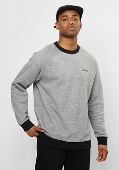 Sweatshirt Trevor Fleece heather grey/black
