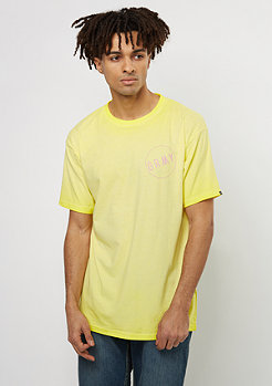 T-Shirt Infamous washed yellow