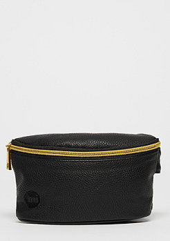 Gold Slim Bum Bag Tumbled black