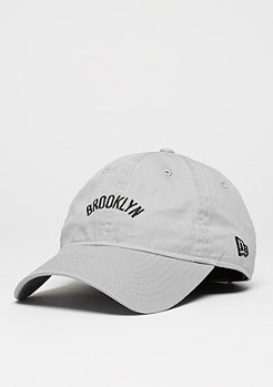 Baseball-Cap 9Forty Unstructured NBA Brooklyn Nets grey