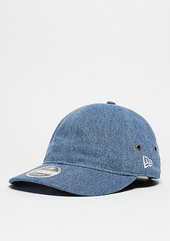 Strapback-Cap 9Fifty Washed Denim light royal