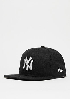 Strapback-Cap 9Fifty Melton Snap MLB New York Yankees black