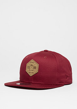 Snapback-Cap 9Fifty Hex Patch cardinal