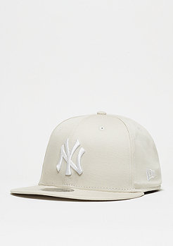 Snapback-Cap 9Fifty League Essential MLB New York Yankees stone
