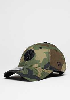 Baseball-Cap 9Forty NBA Brooklyn Nets woodland camo/black