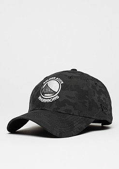 9Forty NBA Golden State Warriors moody camo/black
